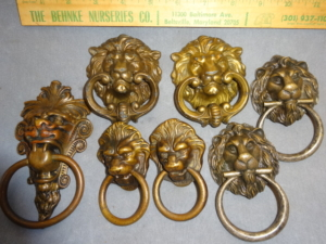 Original Lion head Drop Pulls
