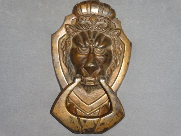 Antique Lion Door Knocker