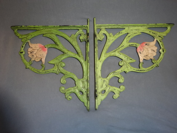 Art Nouveau Shelf Brackets