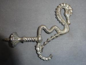 Antique Seahorse Hook