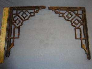 Arts and Crafts Shelf Brackets