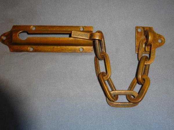 Antique Door Chain Lock