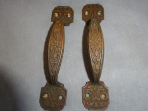 Antique Bronze Handles