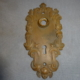 Antique Figural Doorplate