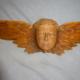 Antique Oak Angel