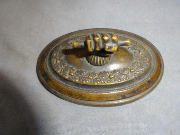 Antique Bronze Paperweight