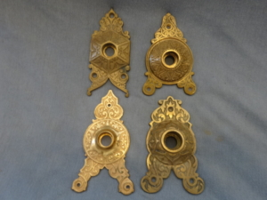 Antique Triangular Back plates