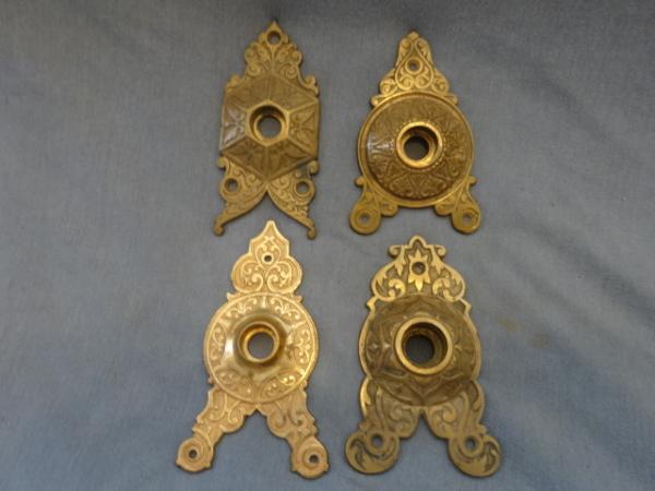 Antique Triangular Back plates