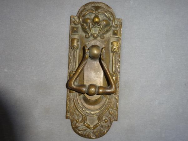 Cast Brass Door Knocker