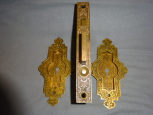 Antique Single Door Pocket Set