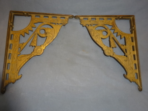 Antique Cast Iron Brackets