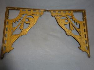 Antique Cast Iron Brackets