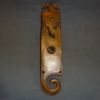 Antique Figural Union Door Plate