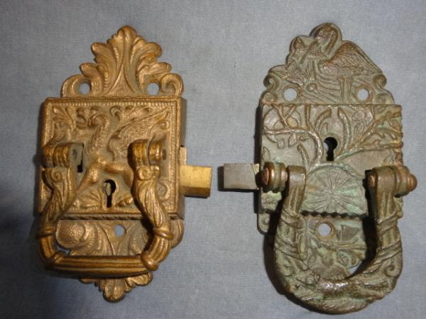 Antique Ice Box Locks / Latches