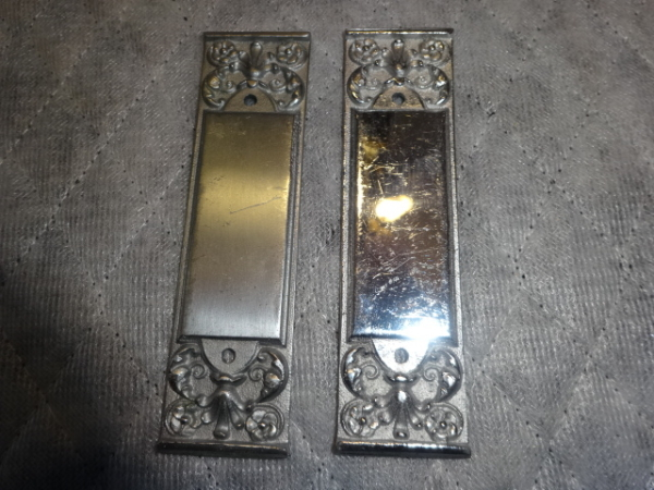 Antique P. F. Corbin Salesman Push Plates