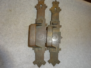 Antique Door Pulls by P.F. Corbin